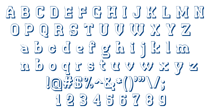 Retro Town font