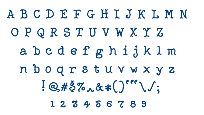 Righter font