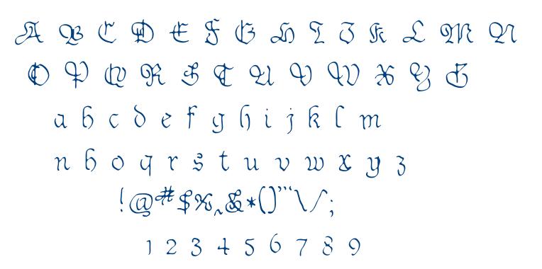 Sable font