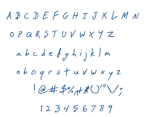 Snake font