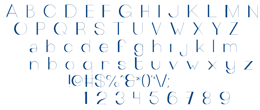 The Outsiders font