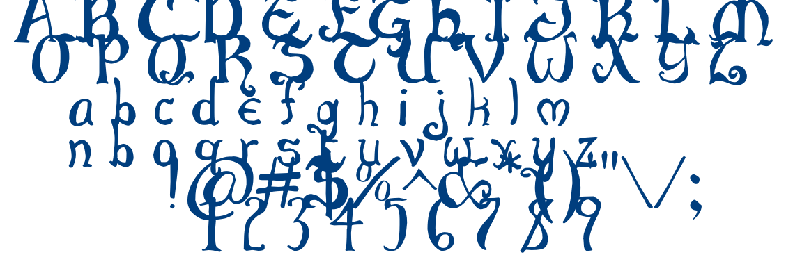 Throrian Commonface font