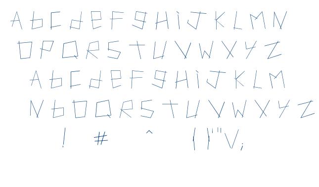 Artifact font