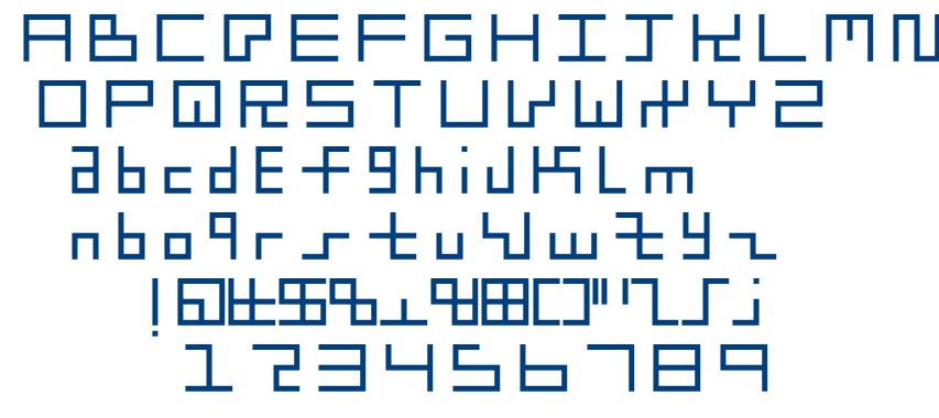 little boxes font