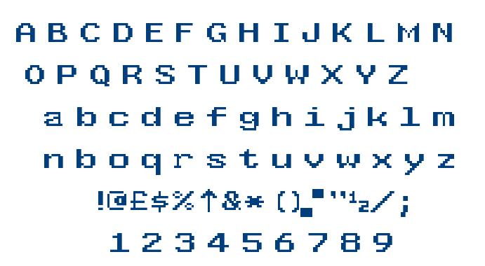 west england font