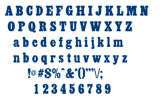 Akenaten font