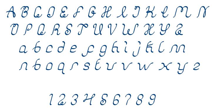 authentic love font