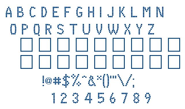 BOX ON BOX font