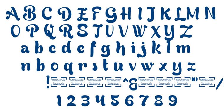 Bready font