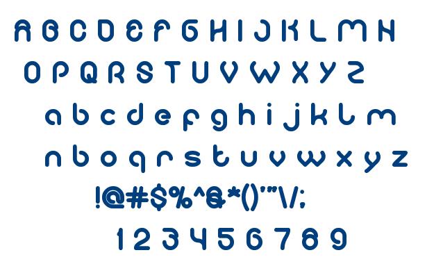 computer love font