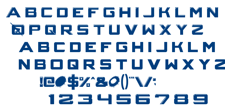crystal core font