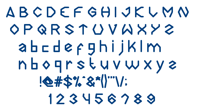 Diamonds are forever font