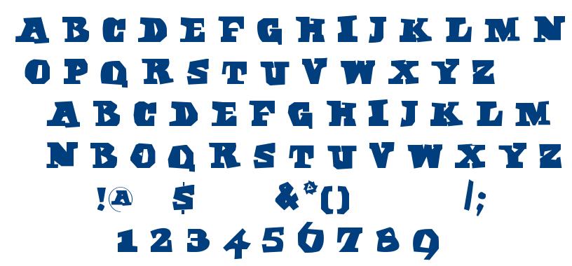 Egypt Axt font