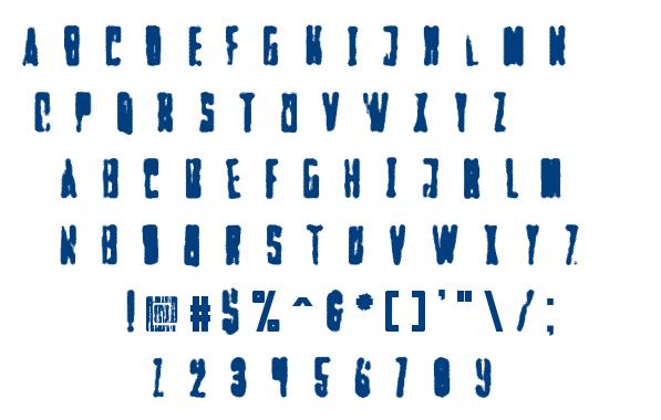 Faltura Alien font