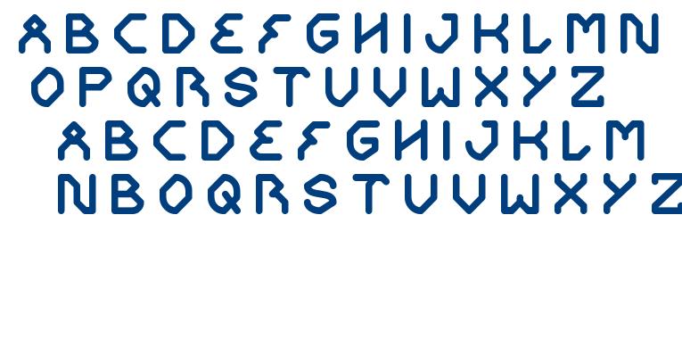 get ready font