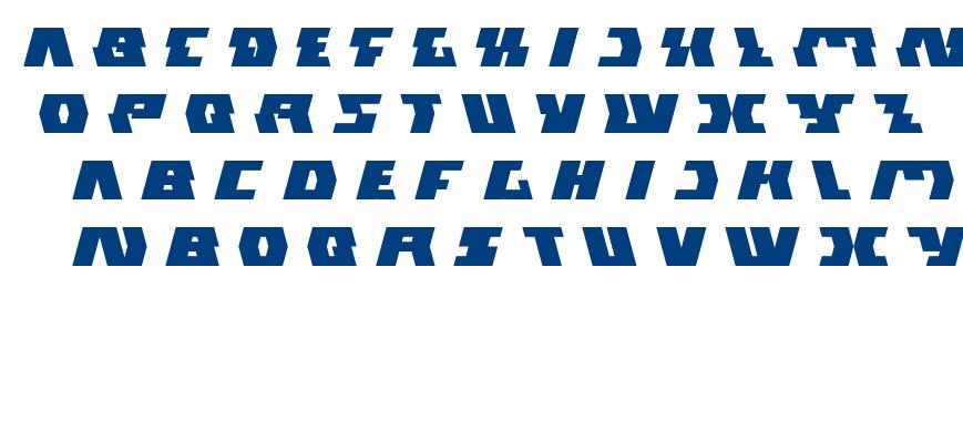gladiator sport font