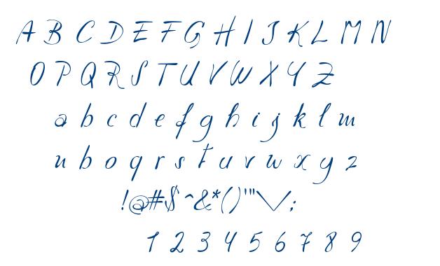 Havlova Austral font