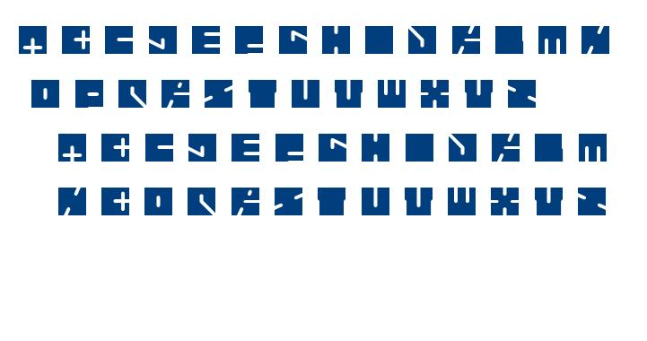 higway patrol font