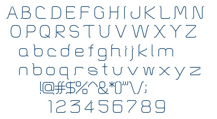 HT Skyline font
