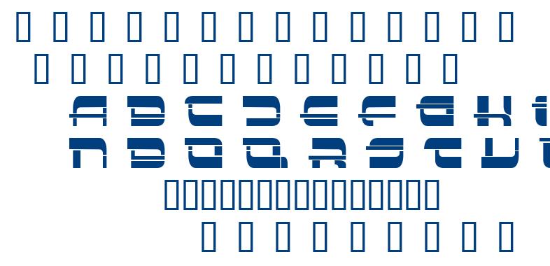 Insert font