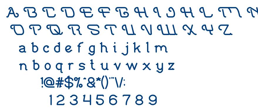 Indonesia Tanah Air font