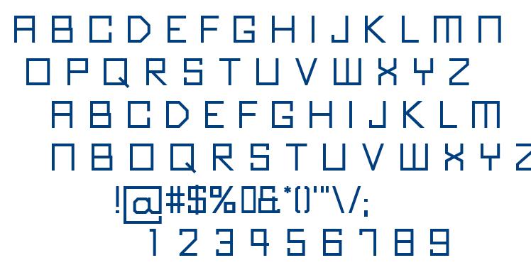 Kubus font