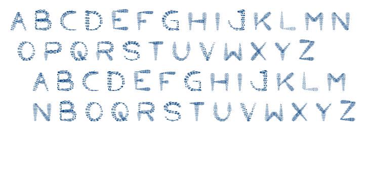 little ant font