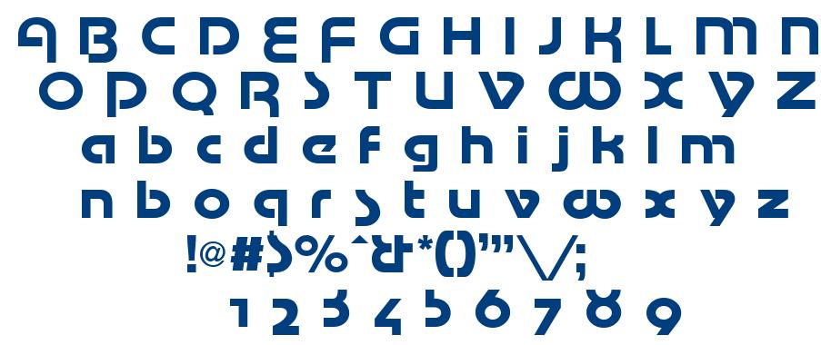 Mottek font