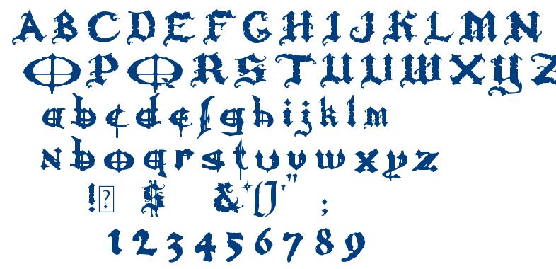Ozzy ii font