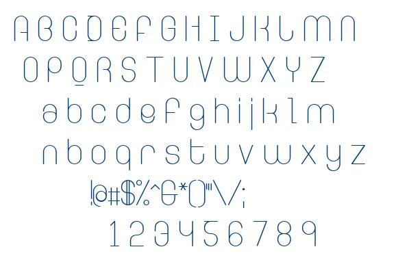 Ringer font