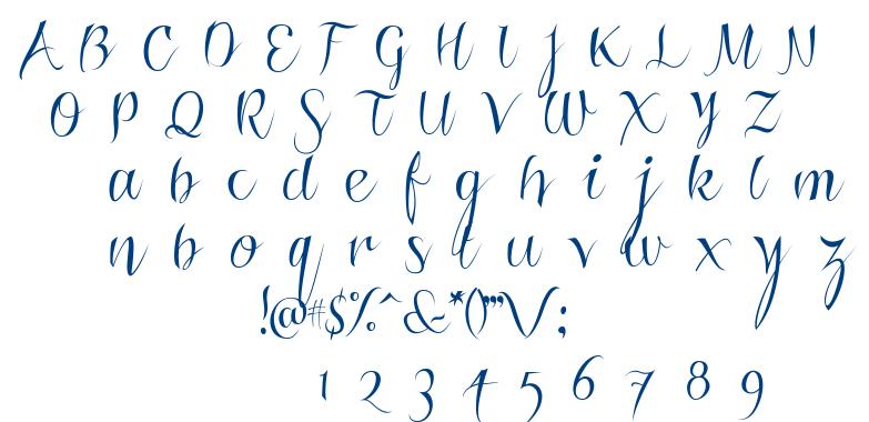 Roskrift Clean font