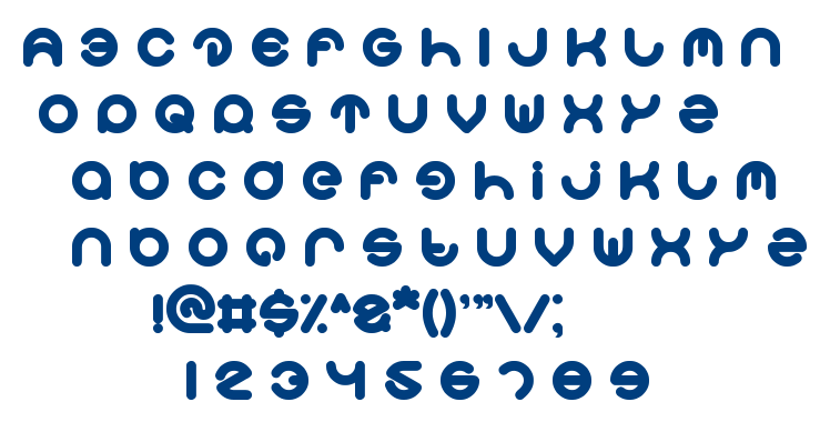 smiley turtle font