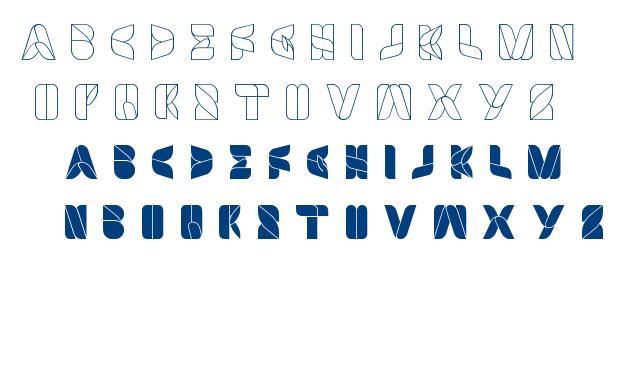 swimmer browser font