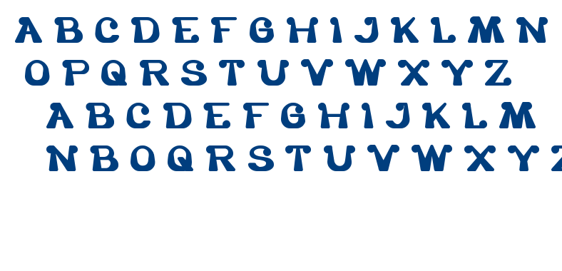the one and only me font
