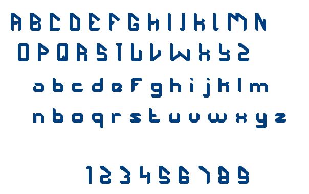 the futurist font