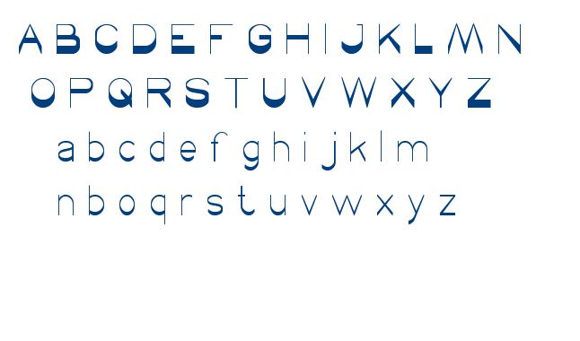 winner font