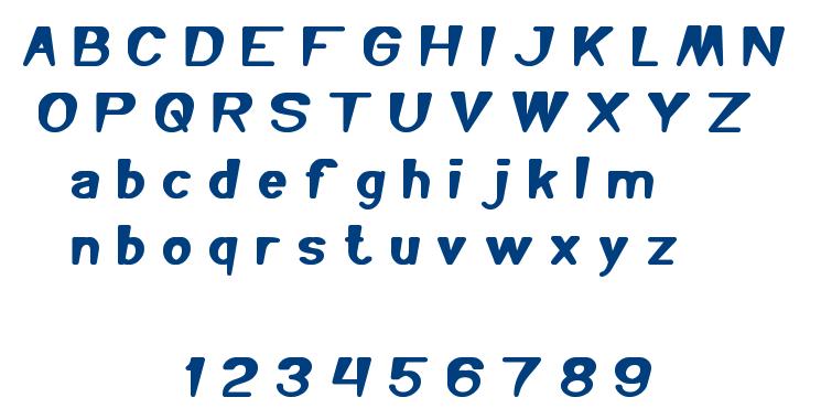 you makes me happy font