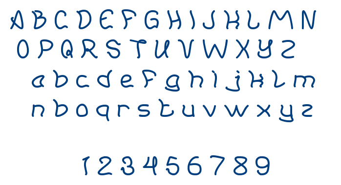 young and free font