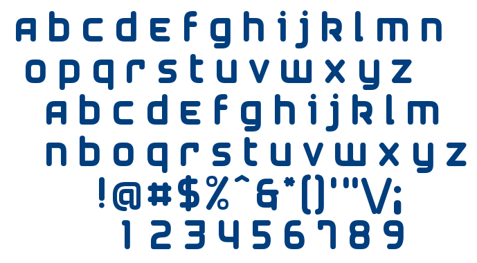 Airstrip Four font