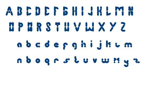 antique retro font