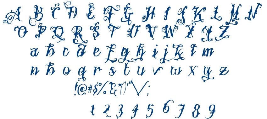 Botanink font