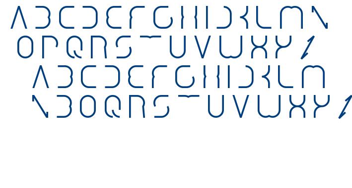 Dismecha font