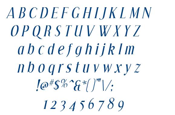 Effloresce font