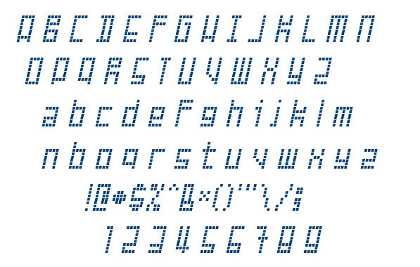 Failed Attempt font