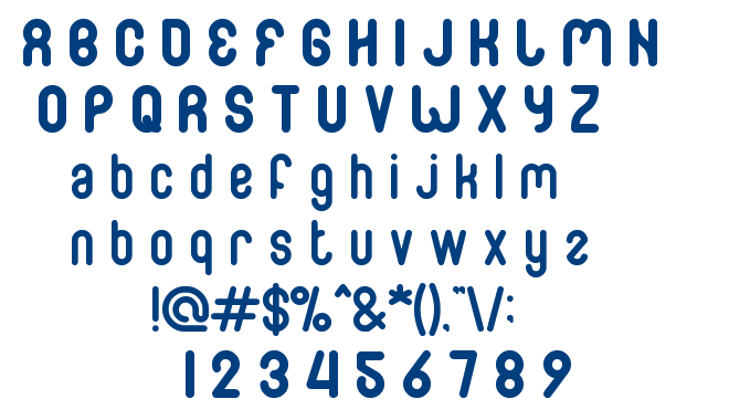 Family And Friend font