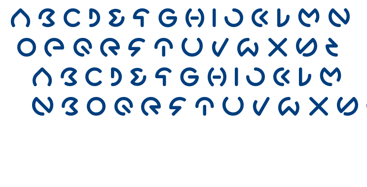 Gabrille font