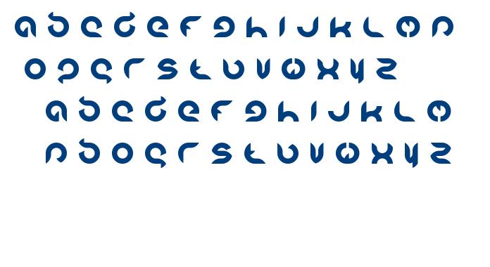 Intran Putri Pratiwi font