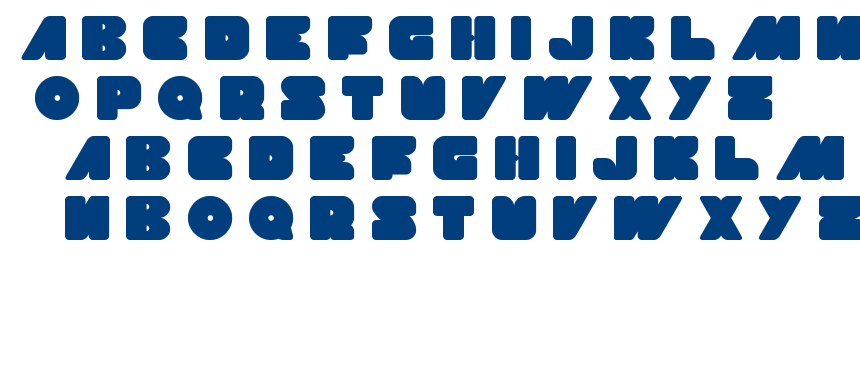made in earth font