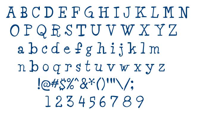 Minya font