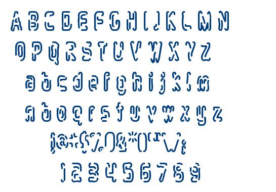 Mlurmlry font